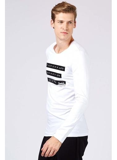 Tommy Life Sweatshirt Beyaz